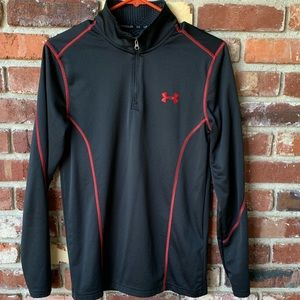 1/2 zip  Under Armour Infared pullover men's small